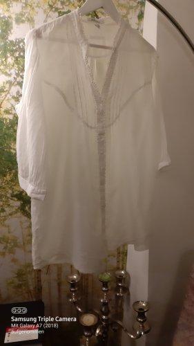 Steilmann Blouse longue blanc
