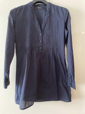 Aniston Camicetta lunga blu scuro