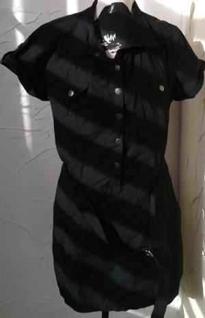 Tie-neck Blouse black