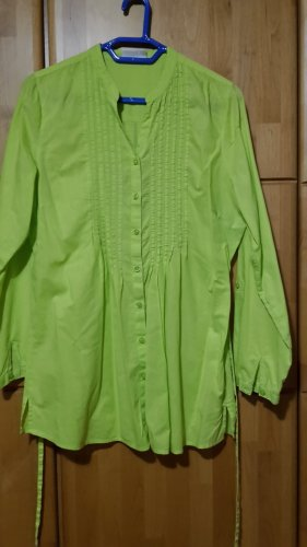 Longbluse, grün