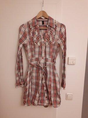 Only Abito blusa camicia multicolore