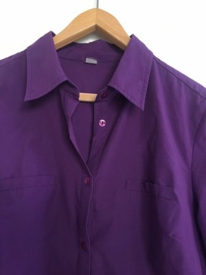 Long Blouse blue violet
