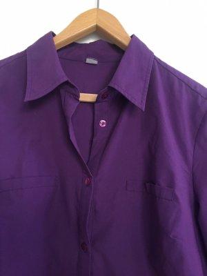 Camicetta lunga blu-viola