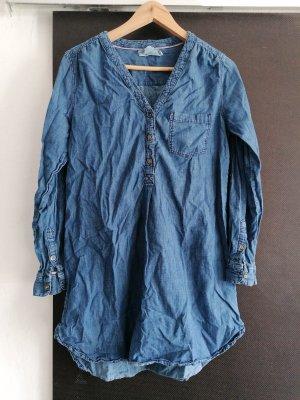 H&M L.O.G.G. Blusa denim blu scuro