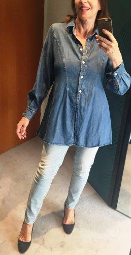 Joop! Jeans Denim Blouse multicolored lyocell