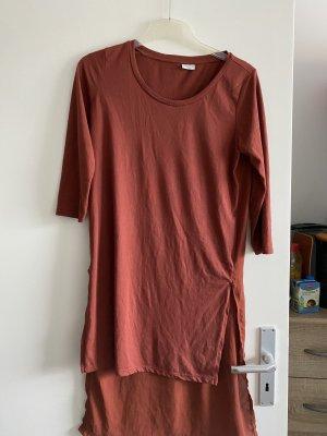 Jaqueline de Yong Abito blusa camicia ruggine