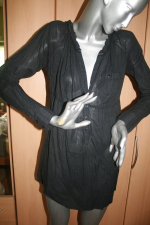 Longbluse von Vero Moda Gr. L schwarz-grau
