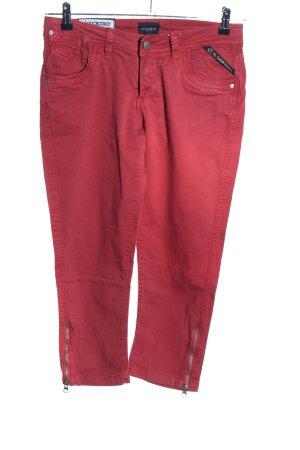 Longboard Jeans 7/8 Jeans rot Casual-Look