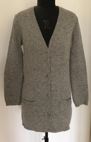Bruuns bazaar Cardigan light grey wool