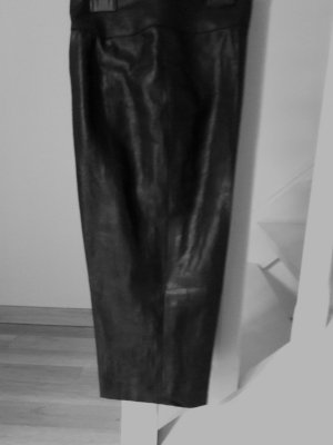 Longchamp Pantalone a 7/8 nero Lino