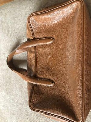 Longchamp Handbag cognac-coloured leather