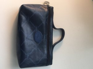 Longchamp Borsa clutch blu scuro-argento