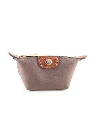 Longchamp Geldbörse braun-wollweiß Casual-Look