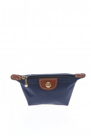 Longchamp Geldbörse blau-braun Motivdruck Casual-Look