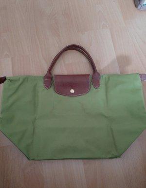 Longchamp groß kleine Henkel grün