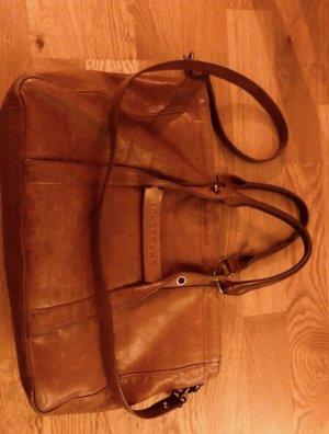 Longchamp Handbag cognac-coloured