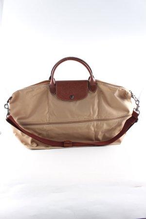 Longchamp Handtasche wollweiß Casual-Look