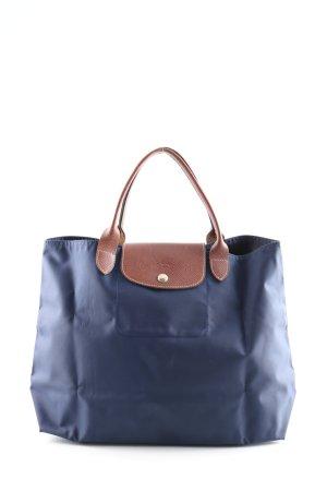 Longchamp Handbag blue-brown casual look