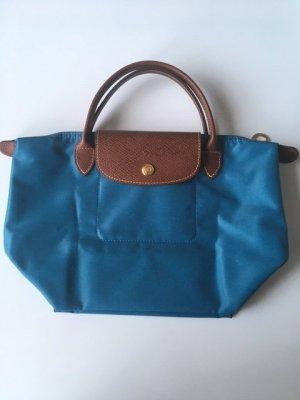 Longchamp Handtasche blau Gr. S