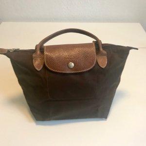 Longchamp Handtasche Le Pliage S in dunkelbraun