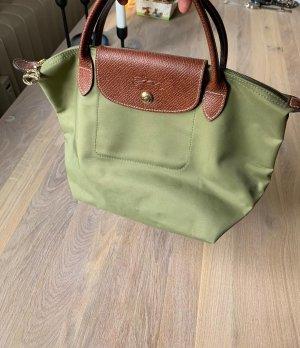 Longchamp Handtasche Le Pliage S neu, grün
