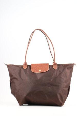 Longchamp Henkeltasche braun Elegant