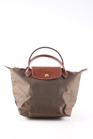Longchamp Henkeltasche bronzefarben Casual-Look