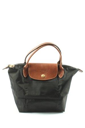 Longchamp Henkeltasche schwarz Casual-Look