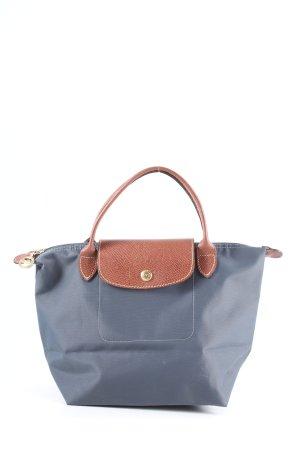 """Longchamp Henkeltasche """"Type S"""" blau"""