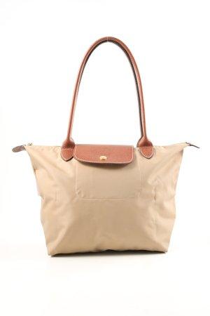 "Longchamp Henkeltasche ""Type ""Shopping"""" creme"