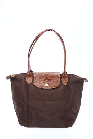 """Longchamp Henkeltasche """"shopping"""" braun"""