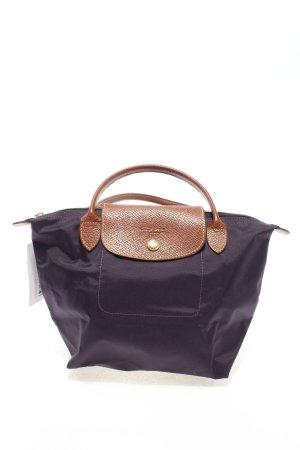 Longchamp Sac Baril violet-brun style décontracté