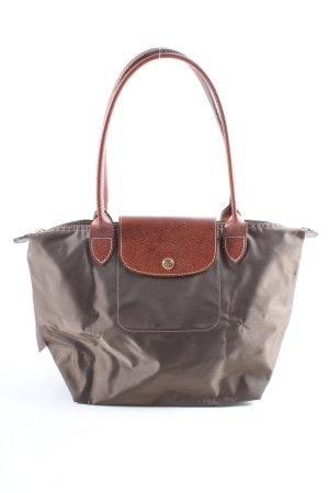 "Longchamp Henkeltasche ""Type ""Shopping"""" hellgrau"