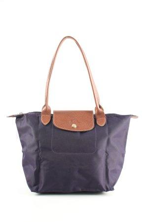 Longchamp Henkeltasche blau Casual-Look