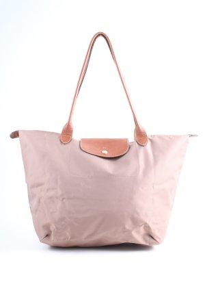 Longchamp Schultertasche pink-braun Casual-Look