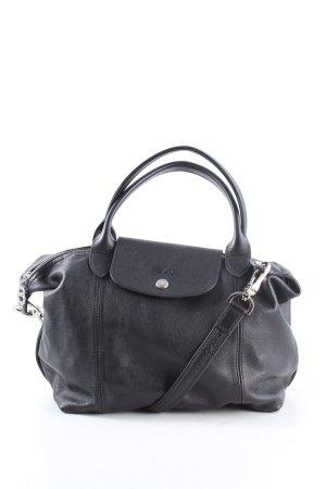 Longchamp Henkeltasche schwarz Business-Look