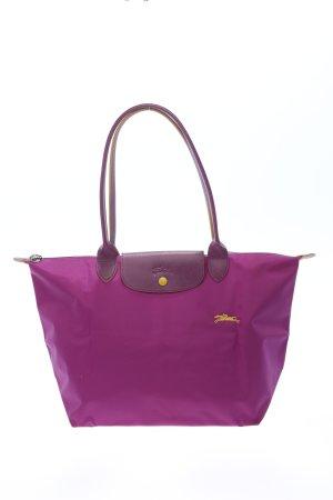 "Longchamp Henkeltasche ""Type ""Shopping"""" lila"