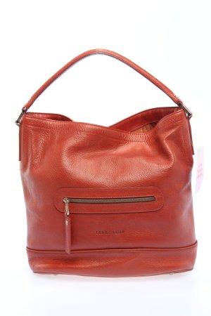 Longchamp Henkeltasche rot Business-Look