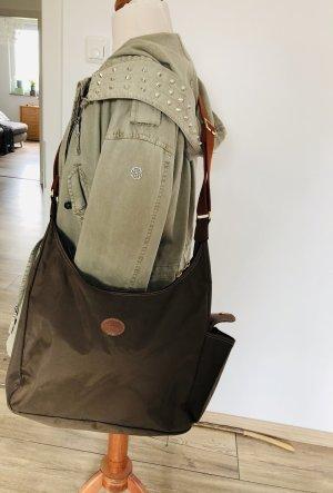 Longchamp Hobo-Bag Pliage olivgrün Tasche Umhängetasche