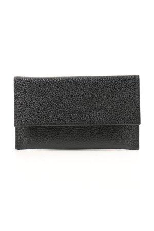 Longchamp Porte-cartes noir imprimé allover style décontracté