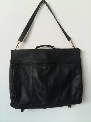 Longchamp Pokrowiec na ubrania czarny Skóra