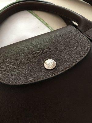 Longchamp l LePliage l Leder l Schokobraun