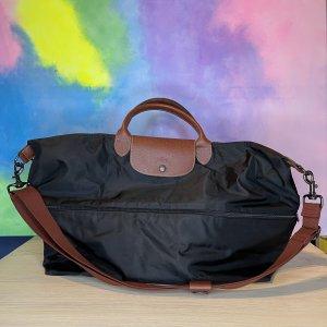 Longchamp Le Pilage erweiterbare Reisetasche