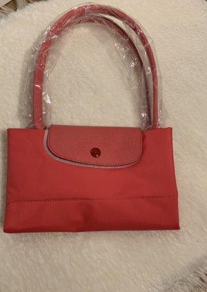 Longchamp Torba shopper ceglasty