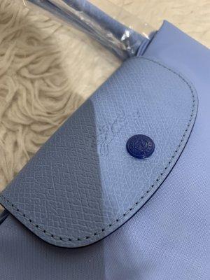 Longchamp Torba shopper błękitny