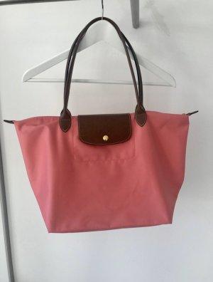 Longchamp Le Pliage Größe L Pink / Koralle