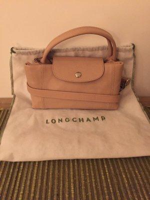Longchamp Shoulder Bag nude leather