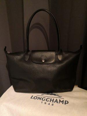Longchamp Le Pliage Leder Handtasche
