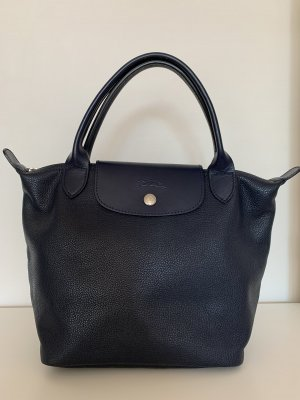 "Longchamp ""Le Pliage S"", Handtasche, neuwertig, Marineblau"