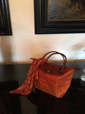 Longchamp Le Pliage Tasche Handtasche Reisetasche Luxus Orange